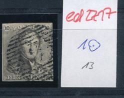 Belgien Nr. 1   O Stempel /Type....?   (ed2717  ) Siehe Scan - 1849 Epaulettes