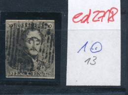 Belgien Nr. 1   O Stempel /Type....?   (ed2718  ) Siehe Scan - 1849 Epaulettes