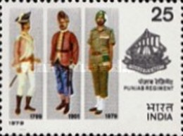USED STAMPS - India - The 4th Reunion Of Punjab Regiment -  1979 - India