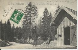 Jura-Touriste - Col De La Savine (Alt. 990 M) - Douaniers - Francia