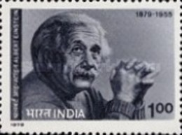 USED STAMPS - India - The 100th Anniversary Of The Birth Of Albert Einestine -  1979 - India