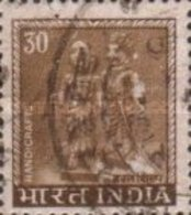 USED STAMPS -India - Local Motifs Stamp Of 1967 Without Curre -  1979 - India