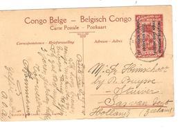 PR6337/ Entier CP 50 Est Africain Allemand Entrée Des Belges à Tabora C.Kigoma 1918 V.Hollande - Entiers Postaux