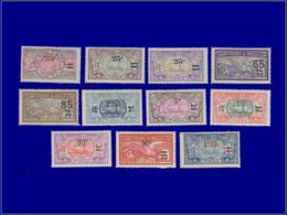 SAINT PIERRE & MIQUELON Poste * - 118/28, Complet 11 Valeurs - Cote: 100 - St.Pierre & Miquelon