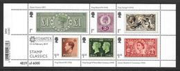 GB 2019 - Stamp Classics Minisheet With STAMPEX OVERPRINT - Hojas Bloque