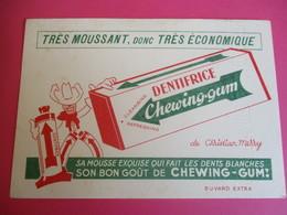 Buvard / Dentifrice/Chewing Gum/ Christian Merry/ Moussant Economique/Dents Blanches/ 1930-1950   BUV295 - Drogisterij En Apotheek