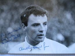 Rugby Photo Dedicacee Andre Boniface - Autogramme & Autographen