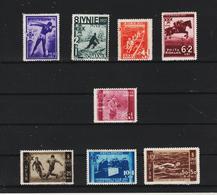 1937 - U.S.F.R. Mi No 528/535  MNH - 1918-1948 Ferdinand, Carol II. & Mihai I.