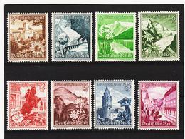 AUA1123 DEUTSCHES REICH 1938  MICHL 675/83  ** Postfrisch Siehe ABBILDUNG - Deutschland