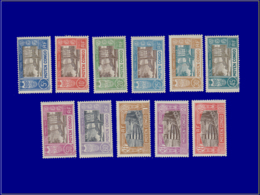 CONGO Taxe * - 12/22, Complet 11 Valeurs: Bateau - Cote: 83 - French Congo (1891-1960)