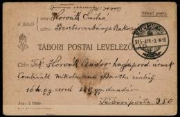 Ref 1275 - 1915 Hungary Postal Stationery Card - Postal Stationery