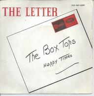 """45 Tours SP - THE BOX TOPS    - STATESIDE 507  """" THE LETTER """" + 1 - Vinyl Records"""