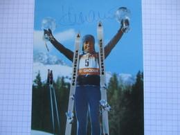 Ski Alpin Photo Karl Schranz Dedicacee - Autogramme & Autographen
