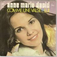 """45 Tours SP - ANNE MARIE DAVID   - EPIC 1757 -  """" COMME UNE VALSE """" + 1 - Vinyles"""
