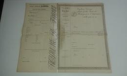 VP14.579 - MILITARIA - Police Générale De Fance - Passeport à L'Intérieur Vierge - Police & Gendarmerie