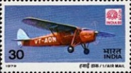 USED STAMPS - India - Airmail - International Stamp Exhibition -  1979 - India