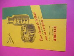 Buvard/Cire Et Encaustique ABEILLE/Cachet Vert / Pour Donner Du Brillant /Encaustique Ou Cire /1945 -1955      BUV297 - Wassen En Poetsen