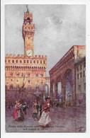 Florence - Piazza Della Signoria With Palazzo Vecchio - Tuck Oilette 7374 - Firenze (Florence)
