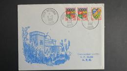 Algerie Lettre De Hassi Messaoud Oasis Fevrier 1962 Pour SP 86 520 A.F.N - Algérie (1924-1962)