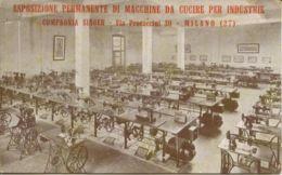 CV 100 - COMPAGNIA SINGER - MACCHINE DA CUCIRE - Werbepostkarten