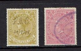 CAPE OF GOOD HOPE...late 1800's...RARE REVENUES - South Africa (...-1961)