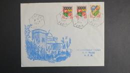 Algerie Lettre De Bayada Oasis Fevrier 1962 Pour SP 86 520 A.F.N - Algérie (1924-1962)