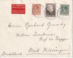 PAYS-BAS 1936 LETTRE DE ROTTERDAM - 1891-1948 (Wilhelmine)