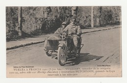 Vuelta A Francia 1922 (3700 Km).Vulliamy, Vencedor De La Categoria 1000cc,sobre Side-car Harley-Davidson.Hutchinson.Moto - Sport Moto