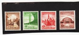 AUA1122 DEUTSCHES REICH 1938  MICHL 665/68  ** Postfrisch Siehe ABBILDUNG - Deutschland