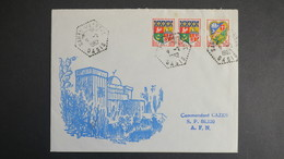 Algerie Lettre De Sahan Magrane Oasis Fevrier 1962 Pour SP 86 520 A.F.N - Algérie (1924-1962)