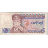 Billet, Birmanie, 35 Kyats, KM:63, TB - Myanmar