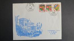 Algerie Lettre De Fort Polignac Oasis Fevrier 1962 Pour SP 86 520 A.F.N - Algérie (1924-1962)