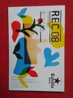 SPAIN TARJETA TIPO POSTAL POST CARD CARTE POSTALE PUBLICITARIA PUBLICIDAD ADVERTISING REC. 08 STORES ESTRELLA DAMM BEER - Publicidad