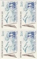 FRANCE 1986 N°2422*° MONT BLANC BLOC DE 4 - Neufs