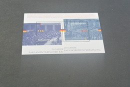 M4827 - Bloc MNH Deutsche Bundespost - Germany -  1998 -50 Jahre Parlamentarischer Rat - [7] République Fédérale