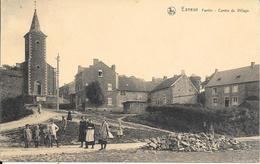 Esneux - Fontin - Centre Du Village - Eglise - NELS - Circulé: 1925 - 2 Scans - Esneux