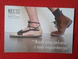 SPAIN TARJETA TIPO POSTAL POST CARD CARTE POSTALE PUBLICITARIA PUBLICIDAD ADVERTISING REC. 03 STORES SHOES SABATA ...VER - Publicidad