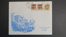 Algerie Lettre De Blidet Amor Oasis Mars 1962 Pour SP 86 520 A.F.N - Algérie (1924-1962)