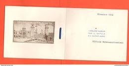 Arsenale Venezia Dipartimento Mar Adriatico Biglietto Natale 1954 Uff. Telecomunicazioni - Documenti