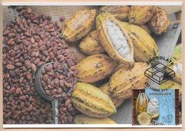 CARTE MAXIMUM - MAXIMUM KARTE - TARJETA MAXIMA - MAXIMUM CARD - PORTUGAL - DU CACAO AU CHOCOLAT - FRUIT ET CABOSSA - Frutta