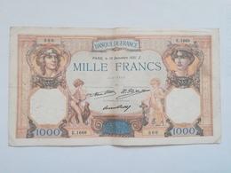 FRANCIA 1000 FRANCS 1931 - 1 000 F 1927-1940 ''Cérès Et Mercure''