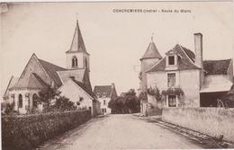 CARTE POSTALE   CONCREMIERS 36  Route Du Blanc - France