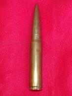 RARE OBUS ANGLAIS 20MM K2 DE 1944 A VOIR - Armes Neutralisées
