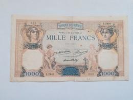 FRANCIA 1000 FRANCS 1933 - 1 000 F 1927-1940 ''Cérès Et Mercure''