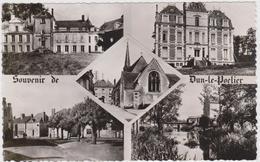 CARTE POSTALE   Souvenir De DUN LE POELIER 36 - France
