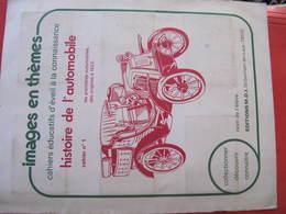 IMAGES EN THEME - HISTOIRE DE L'AUTOMOBILE- 48 Vignettes Sur 48 -  Editions M.D.I. - Auto