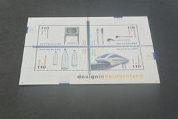 M4833 - Bloc MNH Deutsche Bundespost - Germany - 1999 - Design - [7] République Fédérale