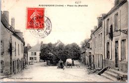 36 AIGURANDE - La Place Du Marché. - France