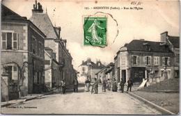 36 ARDENTES - La Rue De L'église. - France