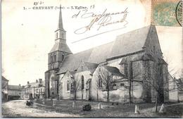 36 CREVANT - L'église - France